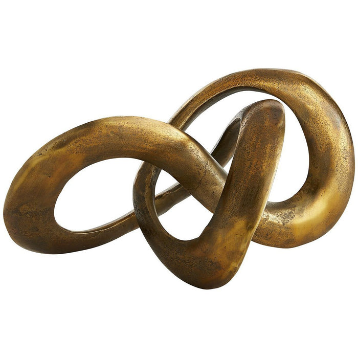 Arteriors Quinn Sculpture - Antique Brass