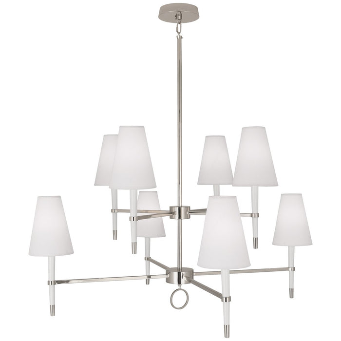 Robert Abbey Jonathan Adler Ventana 2-Tier Chandelier
