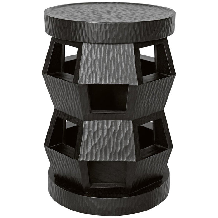 Bungalow 5 Zanzibar Stool/Side Table in Black