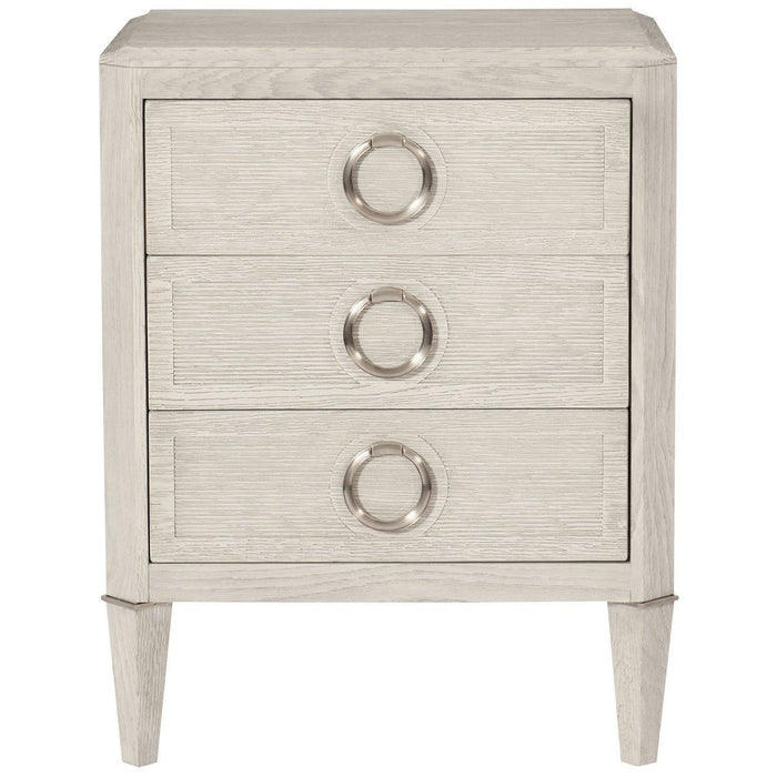 Bernhardt Domaine Blanc Dove White Nightstand