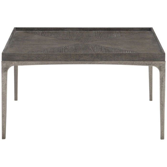 Bernhardt Interiors Strata Charcoal Cocktail Table