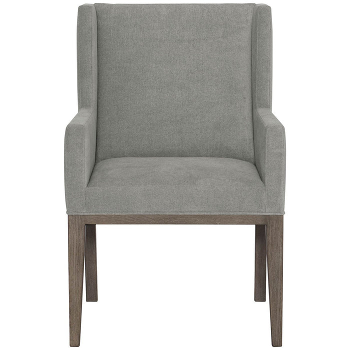 Bernhardt Linea Upholstered Arm Chair Set of 2