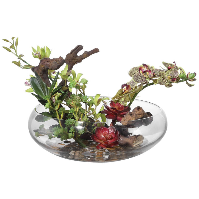 Uttermost Hala Silk Centerpiece