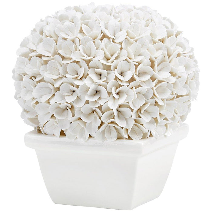 Bungalow 5 Boston Round Boxwood Topiary - White
