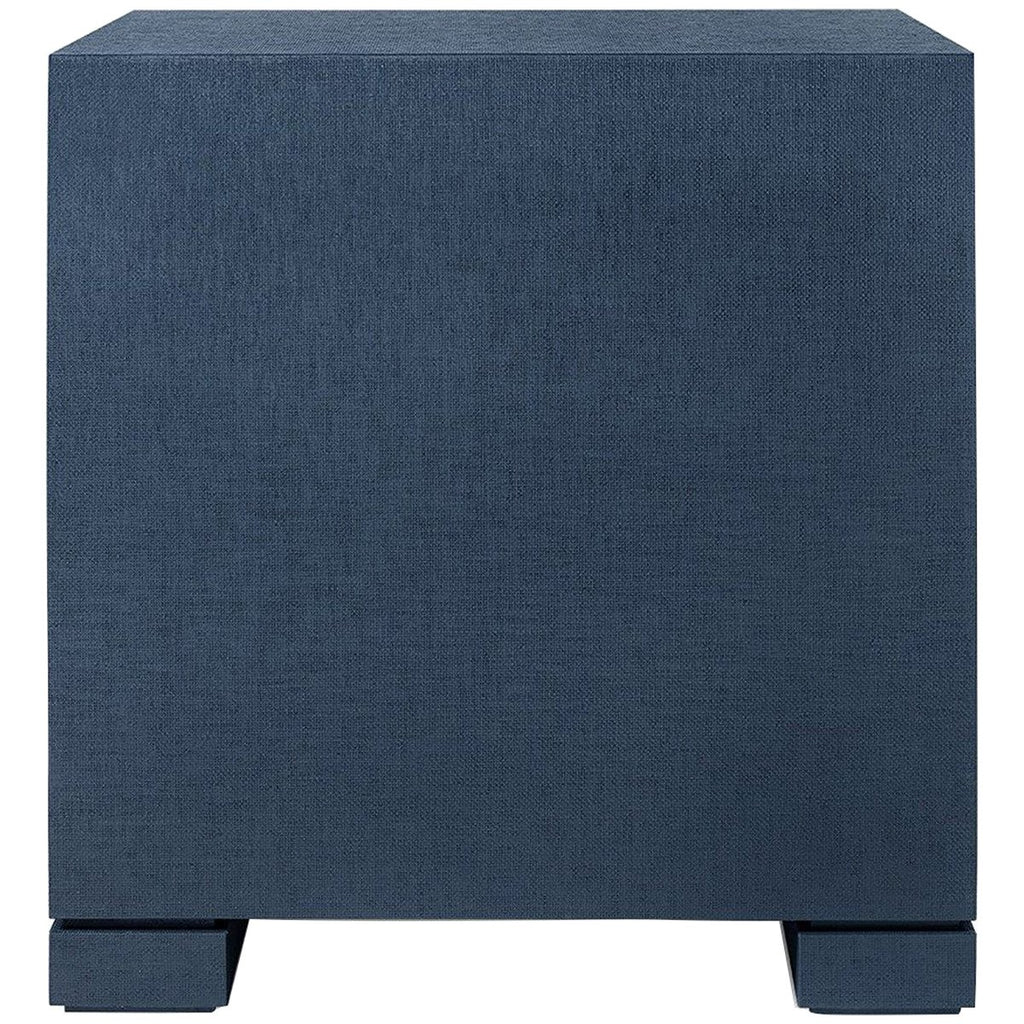 Bungalow 5 Frances 2-Drawer Side Table - Navy Blue