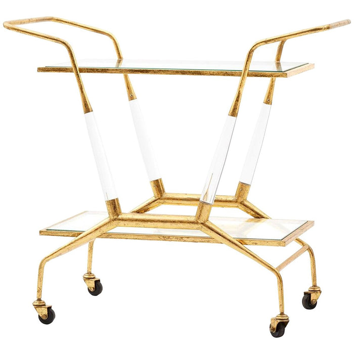 Bungalow 5 Jepson Bar Cart - Gold