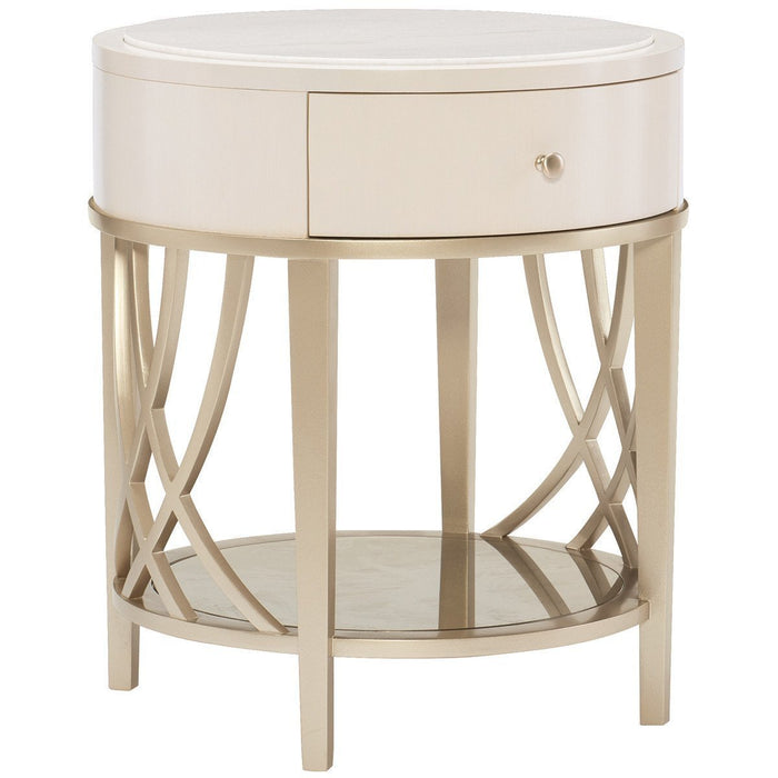 Caracole Adela Round End Table