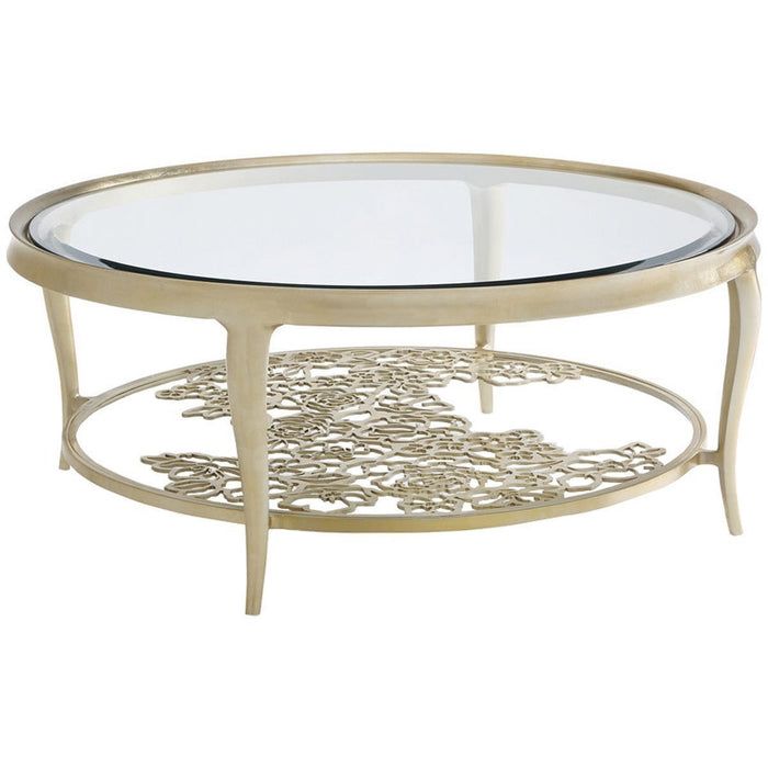 Caracole Classic Handpicked Cocktail Table