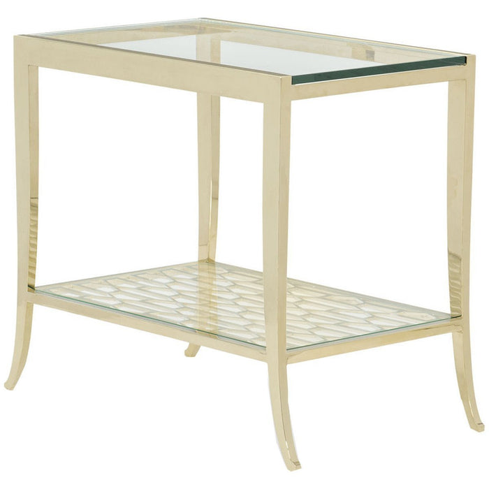 Caracole Classic a Precise Pattern End Table