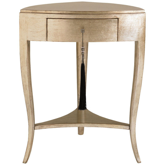 Caracole Tres Tres Chic one Drawer Accent Table