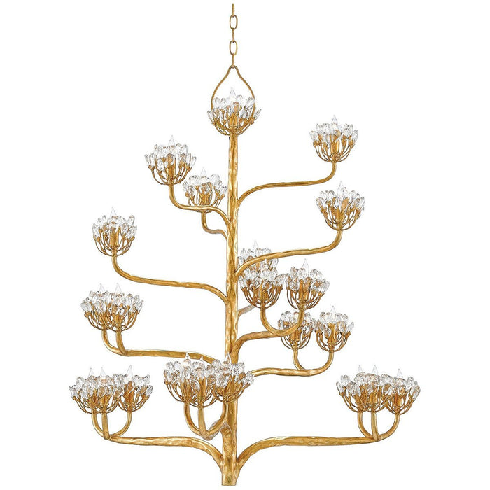 Currey and Company Agave Americana Chandelier