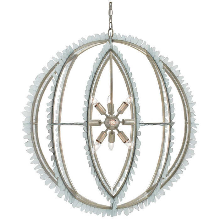 Currey and Company Saltwater Orb Chandelier