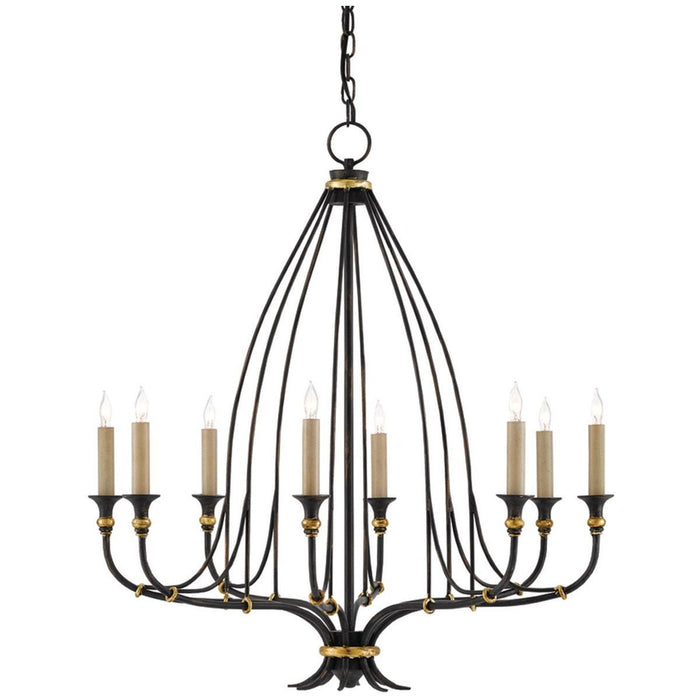 Currey and Company Folgate Chandelier - Small