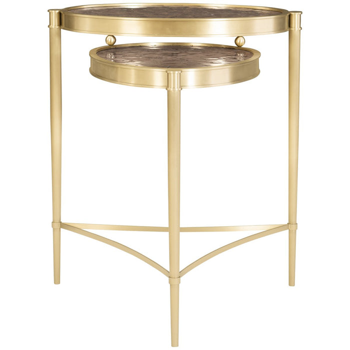 Caracole Tiered Up Table - Champagne Gold