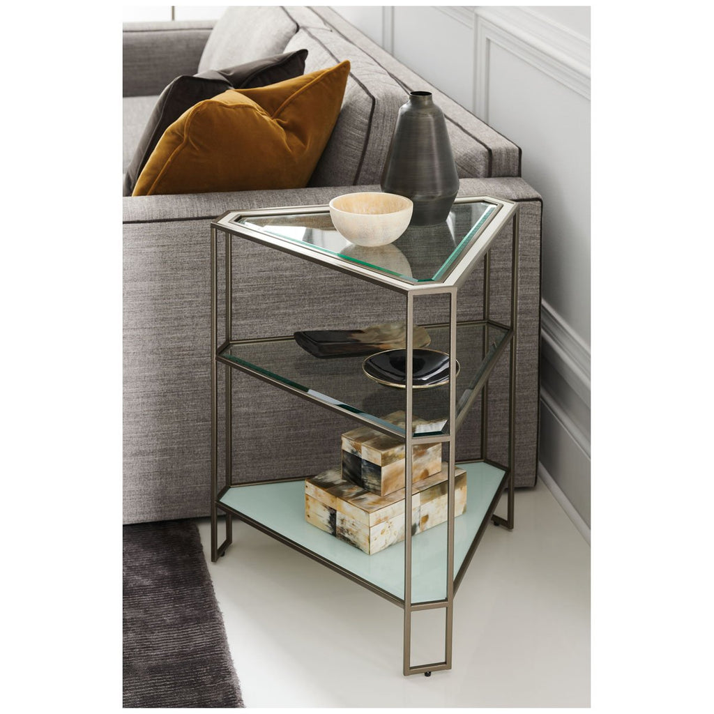 Caracole Classic Stage Left or Right End Table