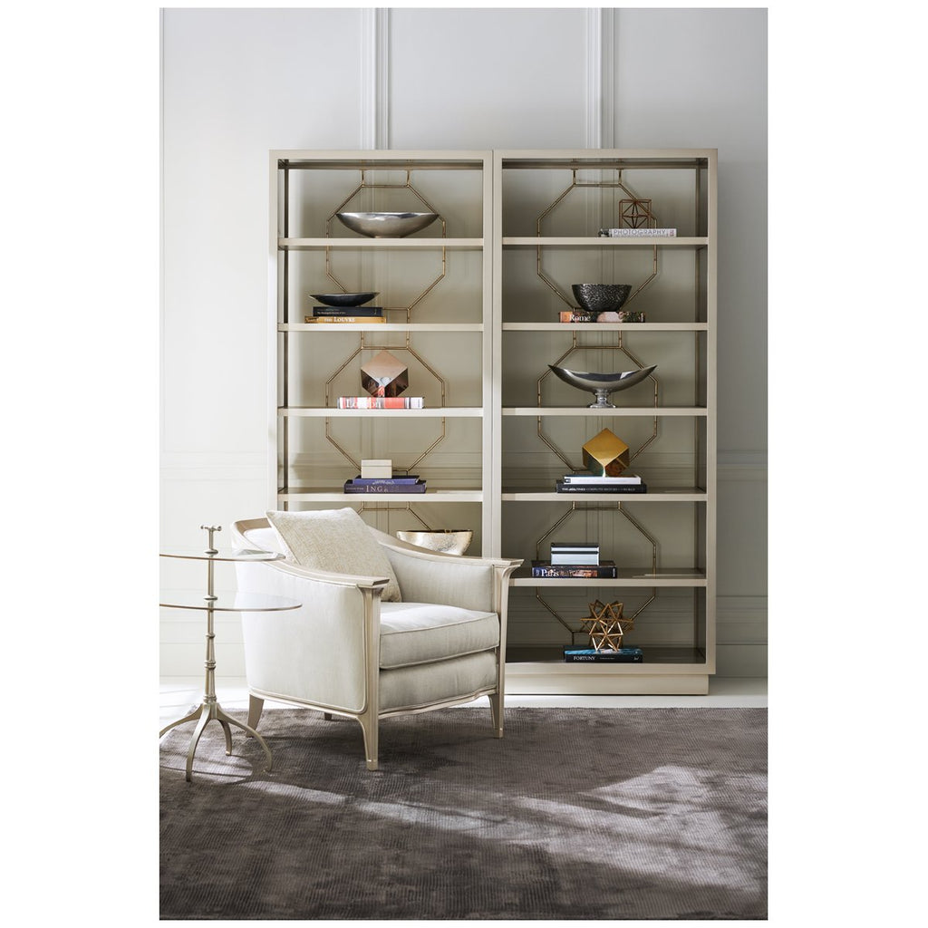 Caracole Classic Going Up Display Cabinet