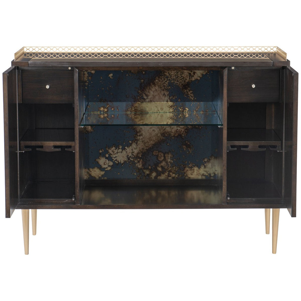 Caracole Classic In Good Spirits Bar Cabinet