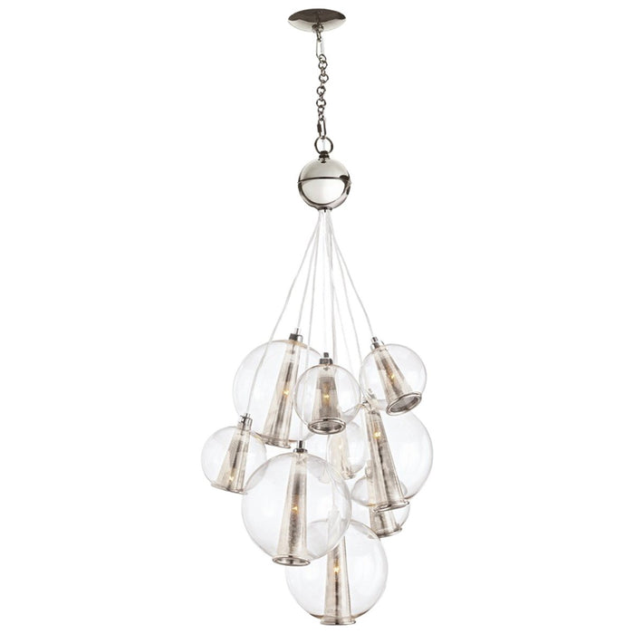 Arteriors Caviar Adjustable Medium Cluster Chandelier