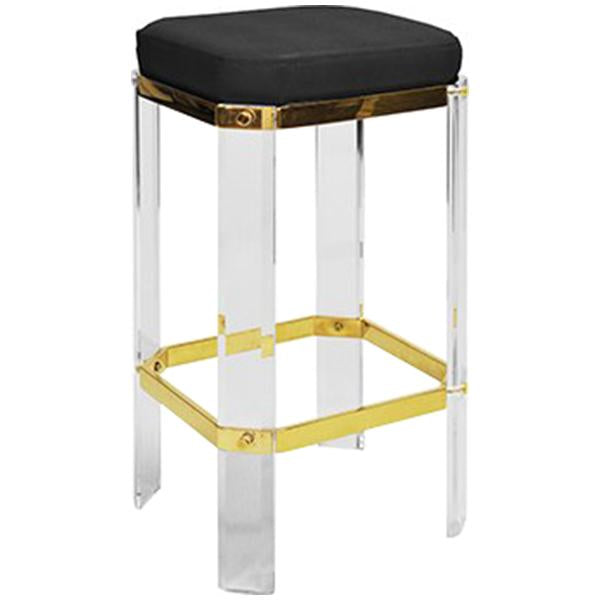 Worlds Away Acrylic Counter Stool
