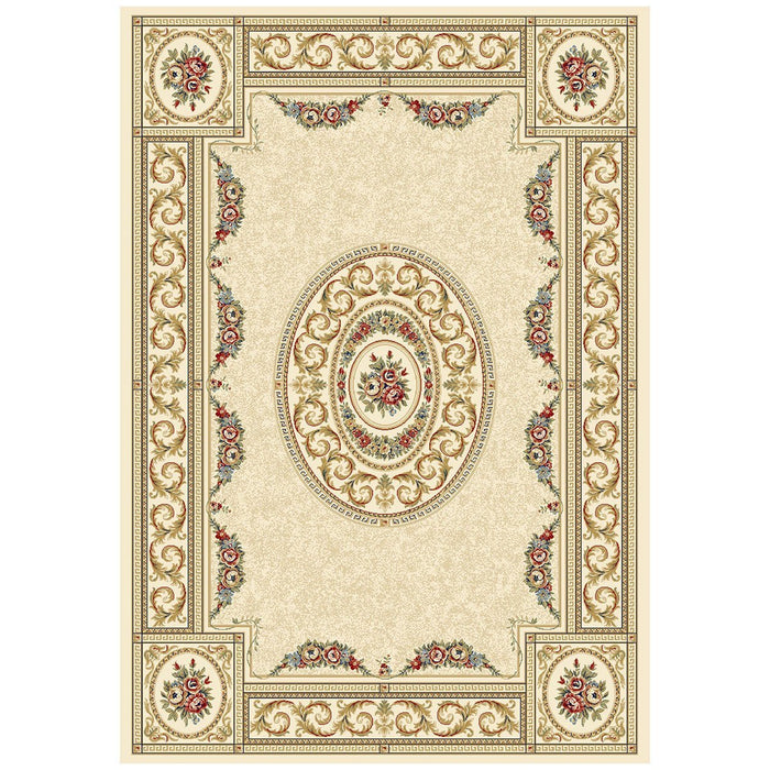 Dynamic Rugs Ancient Garden 57226-6464 Ivory Rug