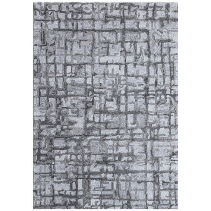 Dynamic Rugs Posh 7813-900 Grey Rug