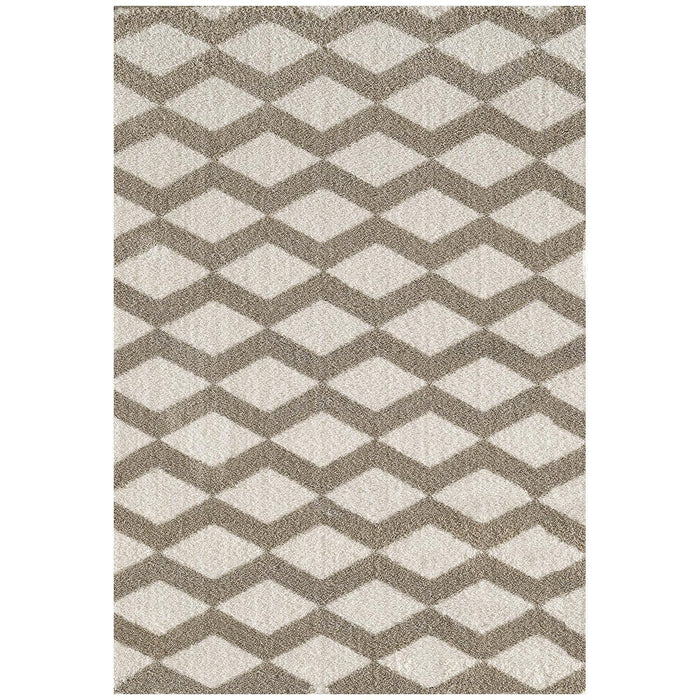 Dynamic Rugs Silky 5904-111 White Rug