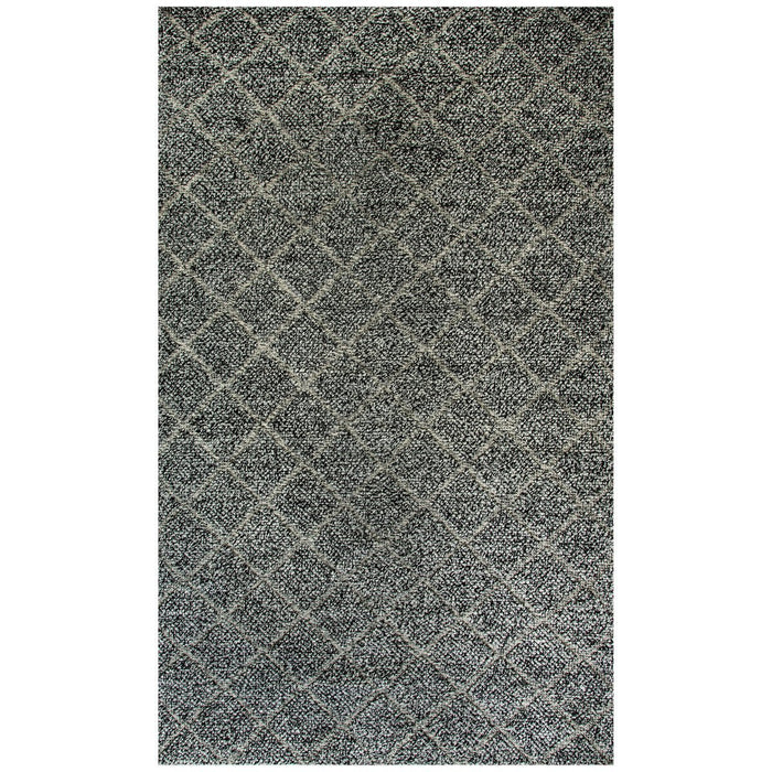 Dynamic Rugs Zest 40801-900 Charcoal-Grey Rug