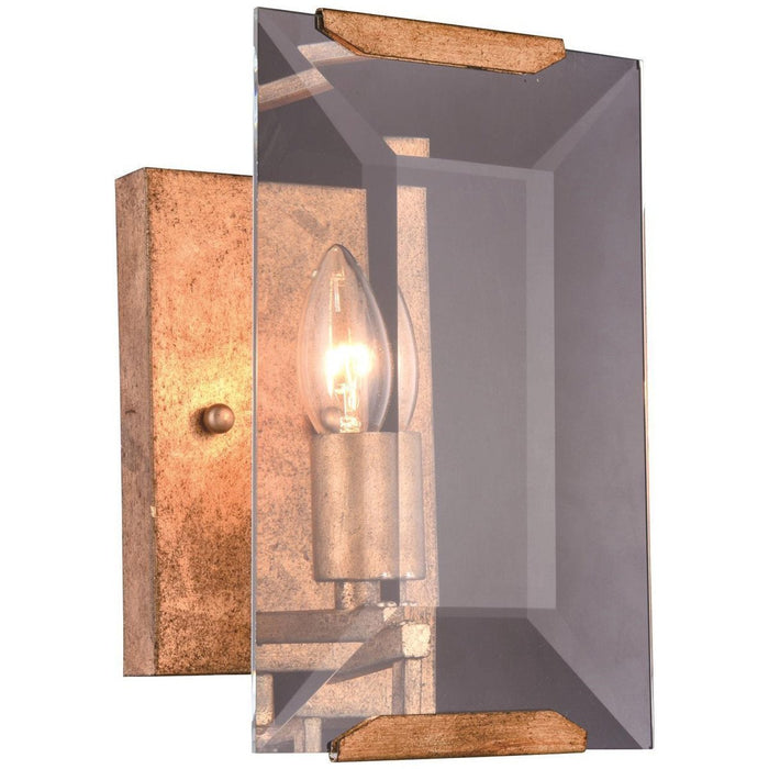 Elegant Lighting Monaco 1 Light Golden Iron Sconce