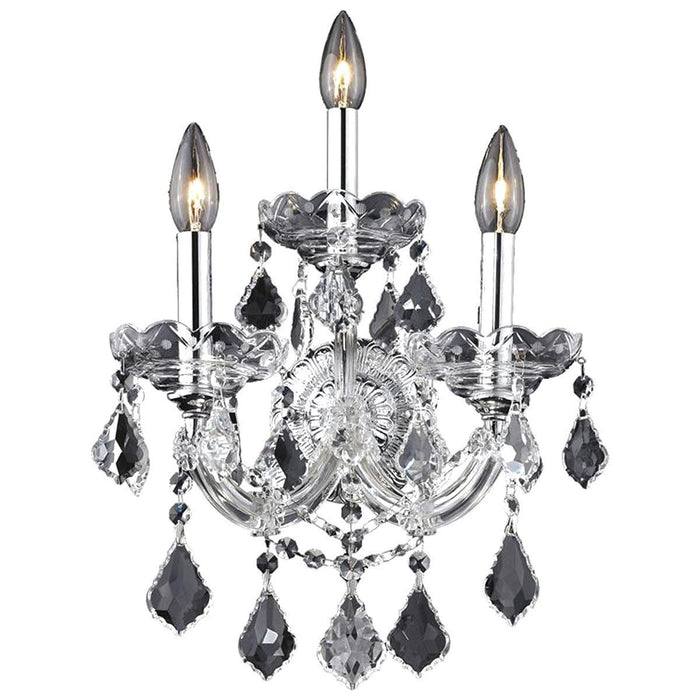 Elegant Lighting 2800 Maria Theresa 3 Lights Sconce