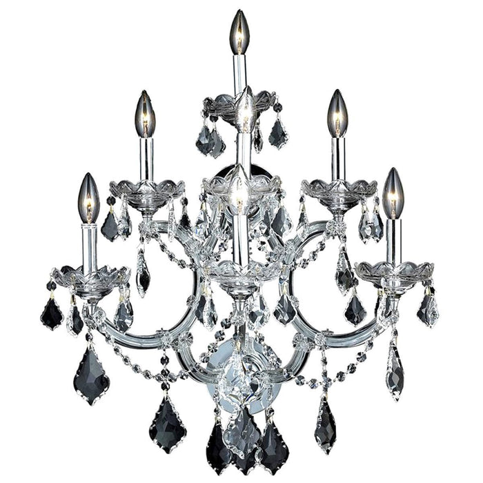 Elegant Lighting 2800 Maria Theresa 7 Lights Sconce