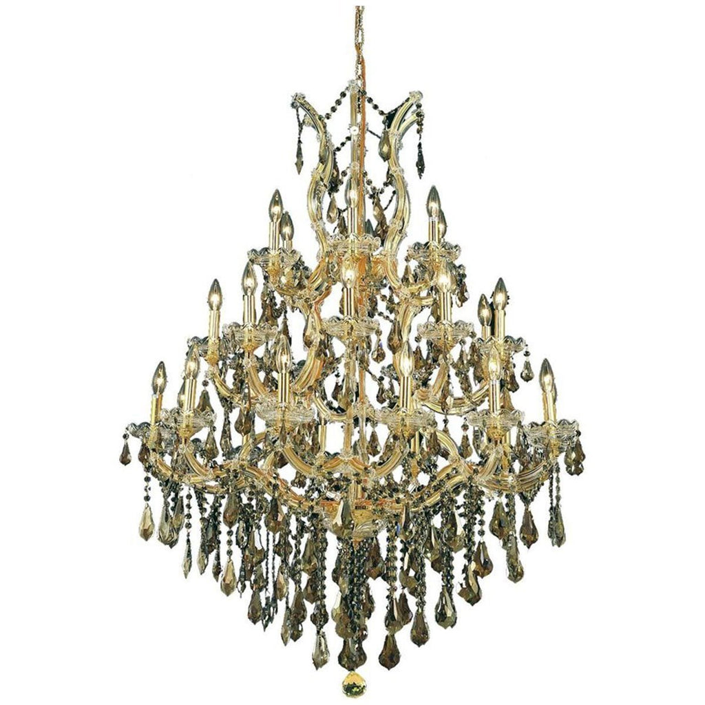 Elegant Lighting 2801 Maria Theresa 28 Lights Chandelier