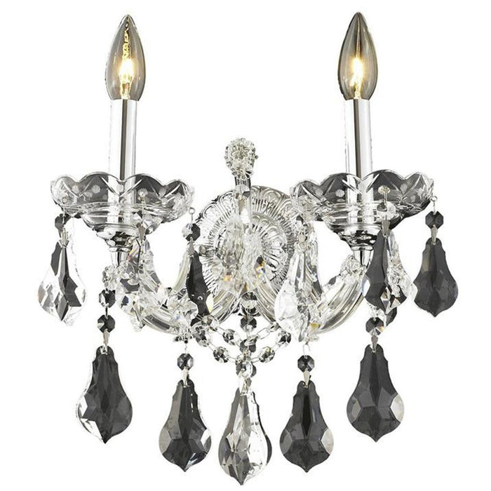 Elegant Lighting 2801 Maria Theresa 2 Lights Sconce