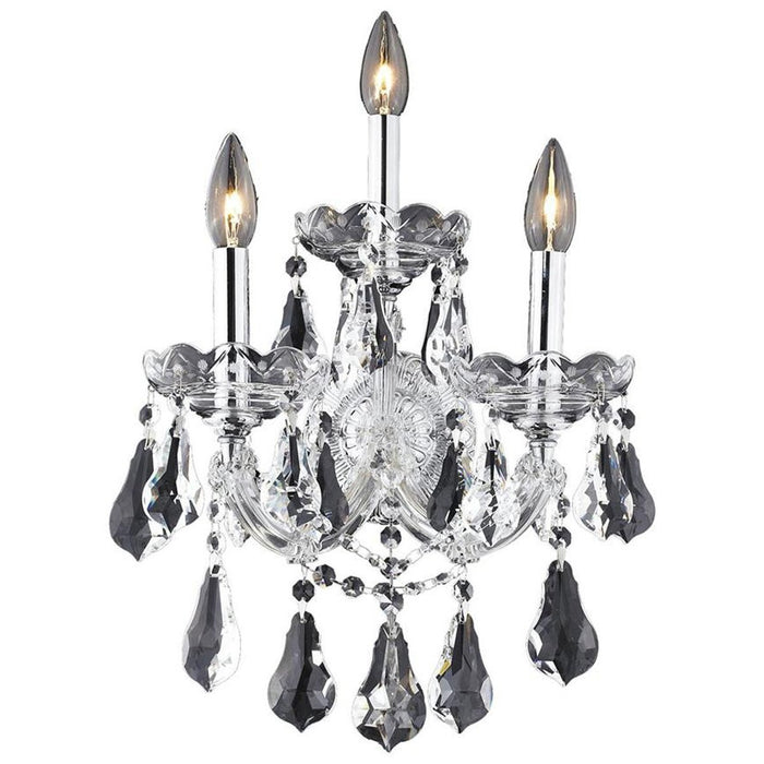 Elegant Lighting 2801 Maria Theresa 3 Lights Sconce