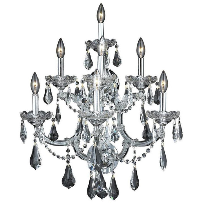 Elegant Lighting 2801 Maria Theresa 7 Lights Sconce