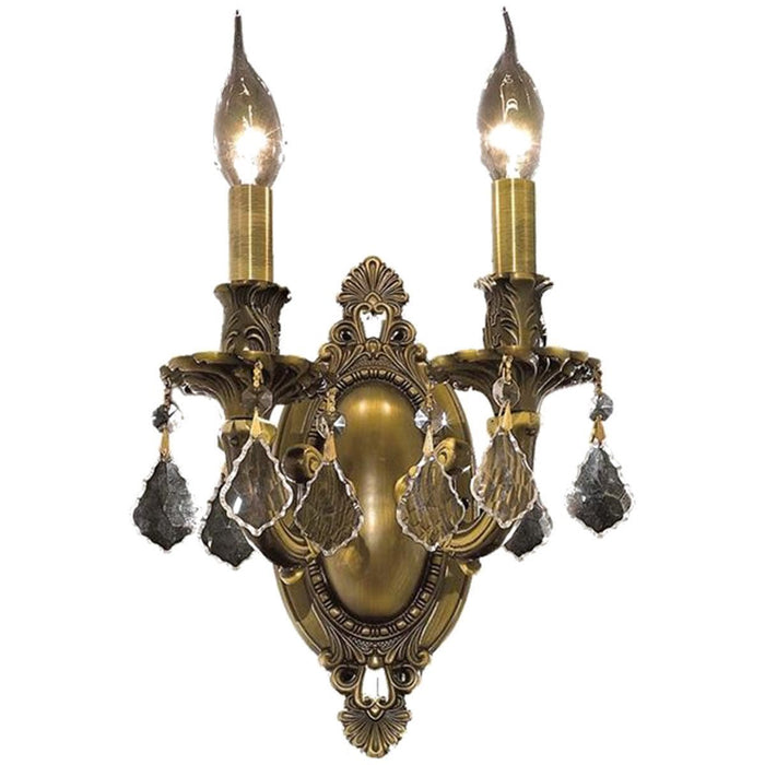 Elegant Lighting Rosalia 2 Lights Wall Sconce