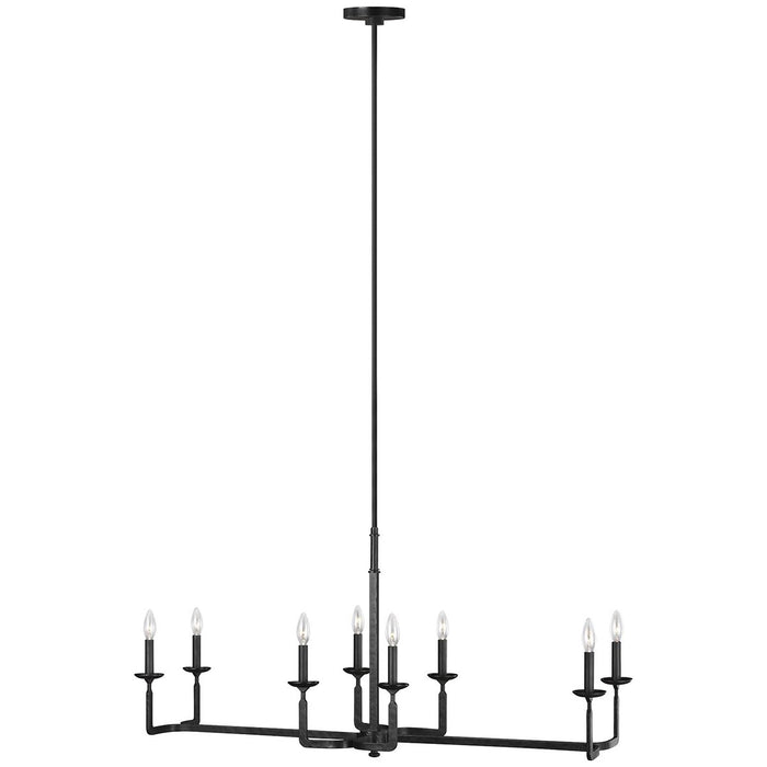 Feiss Ansley 8-Light Linear Chandelier