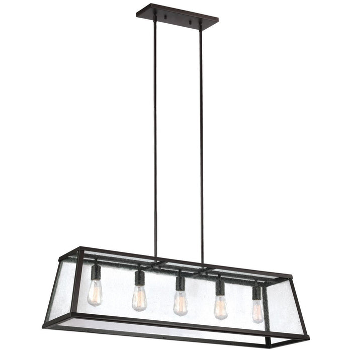 Feiss Harrow 5 Lights Island Chandelier