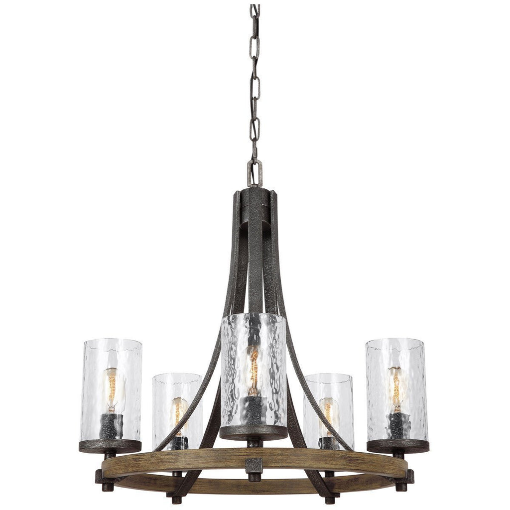 Feiss Angelo 5 Lights Chandelier