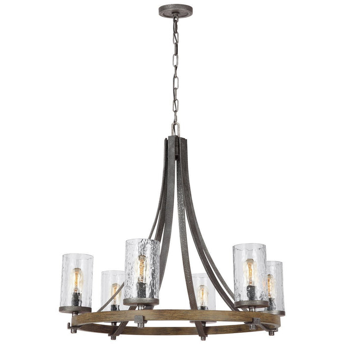 Feiss Angelo 6 Lights Chandelier