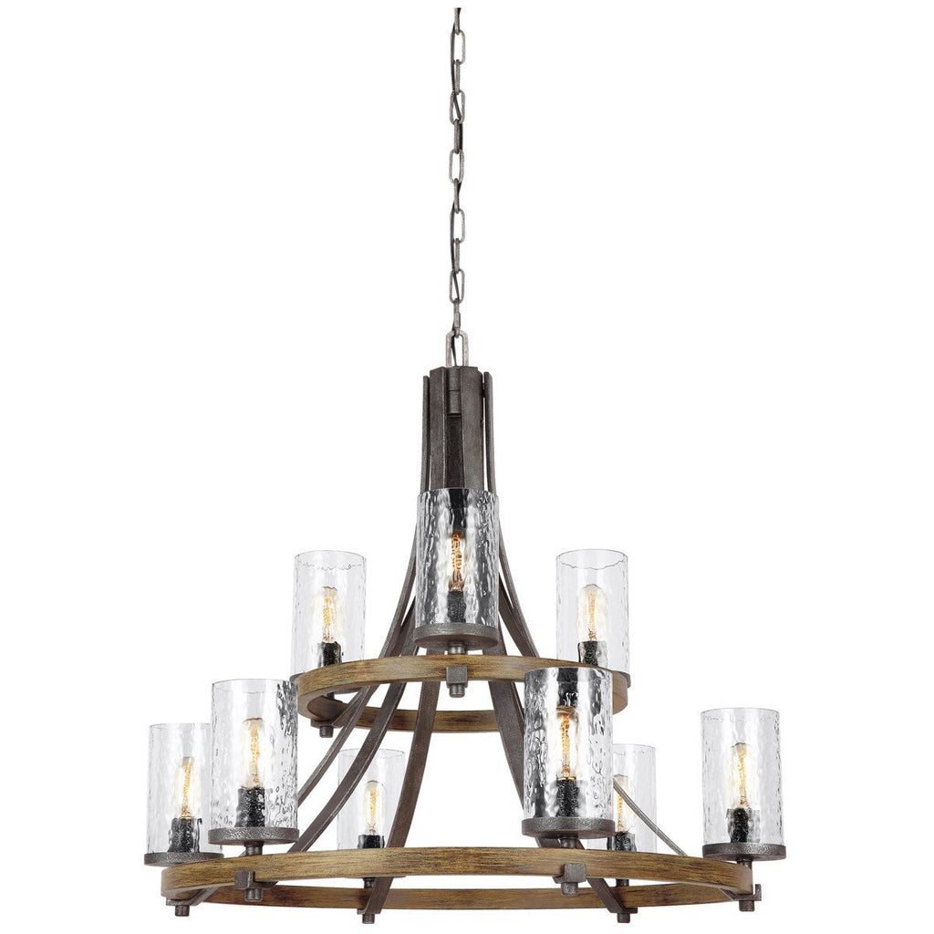 Feiss Angelo 9 Lights Chandelier