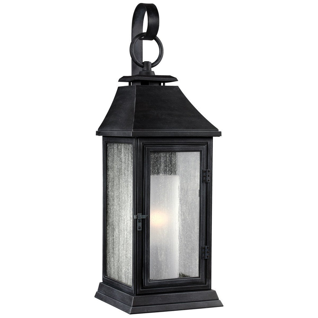 Feiss Shepherd 1 Light Stone Strong Outdoor Sconce