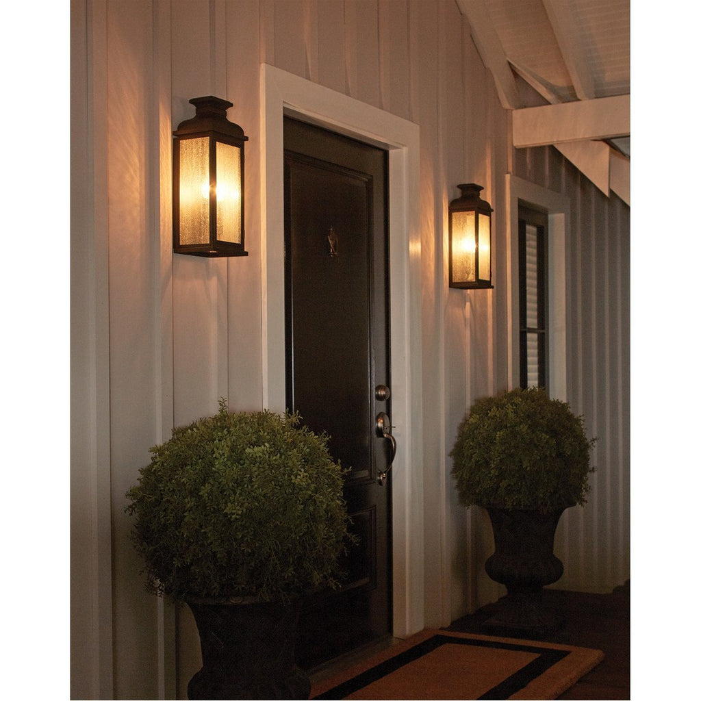 Feiss Pediment 2 Lights Outdoor Sconce