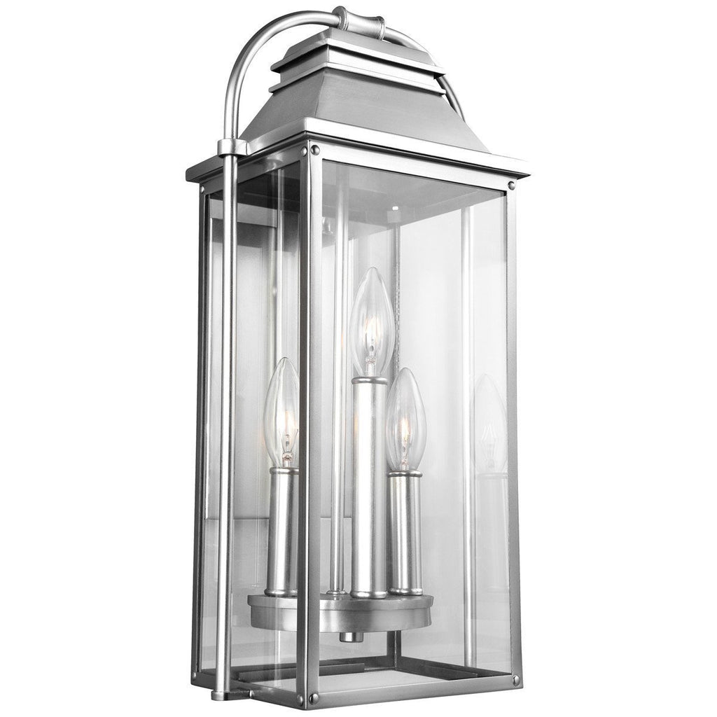 Feiss Wellsworth 3 Lights Outdoor Wall Lantern