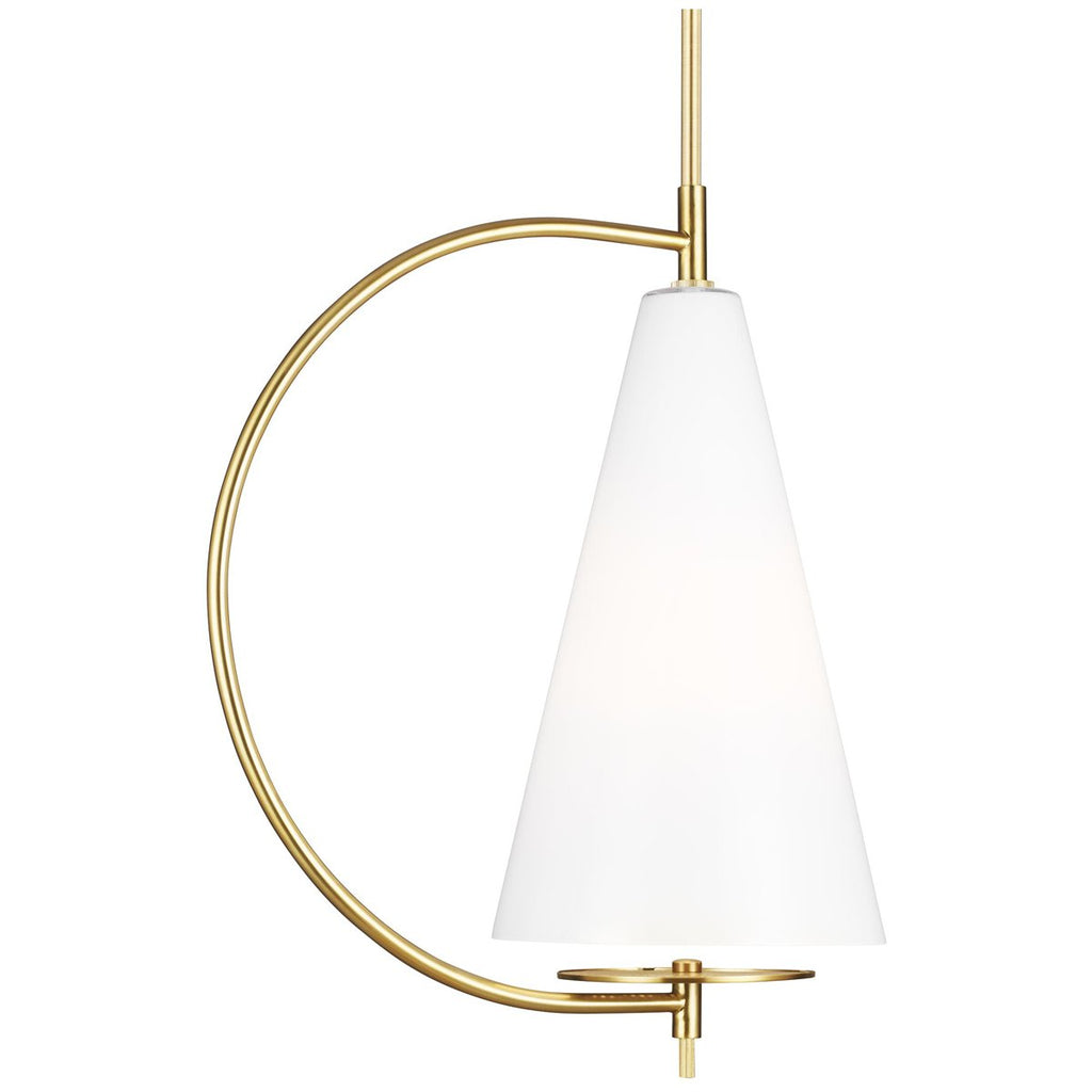 Feiss Gesture 1-Light Tall Pendant