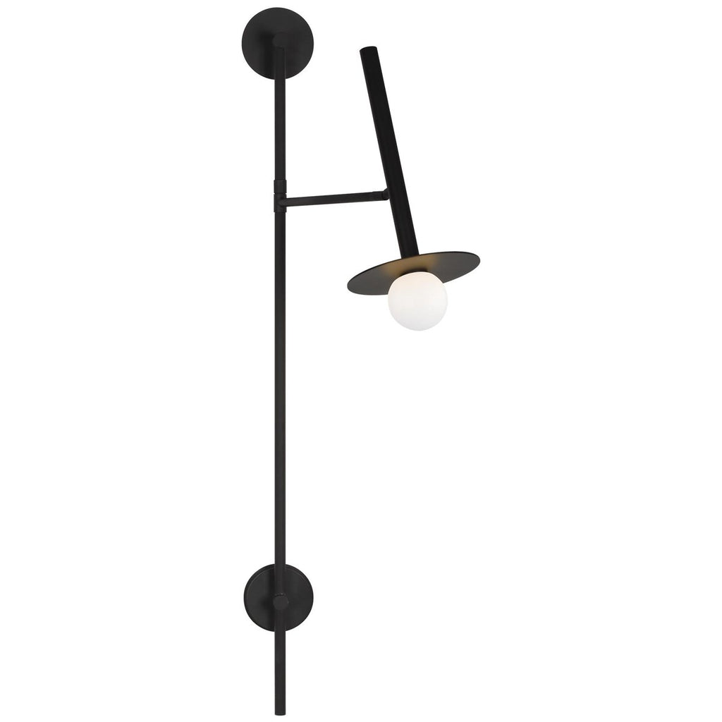 Feiss Nodes 1-Light Large Pivot Wall Sconce