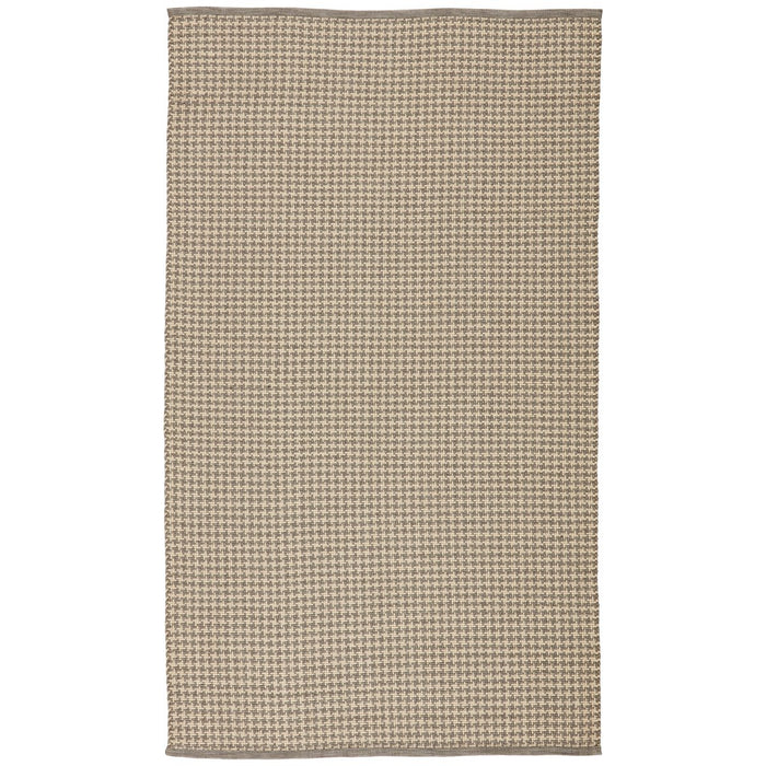 Jaipur Finlay Houndz Trellis Geometric Light Gray Cream FNL02 Rug