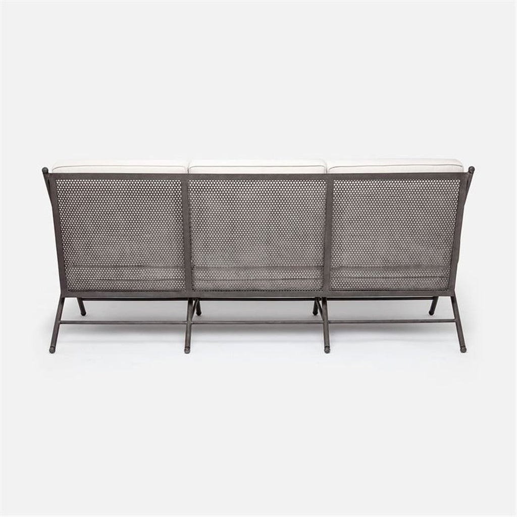 Made Goods Balta Outdoor Sofa in Danube High-Performance Fabric