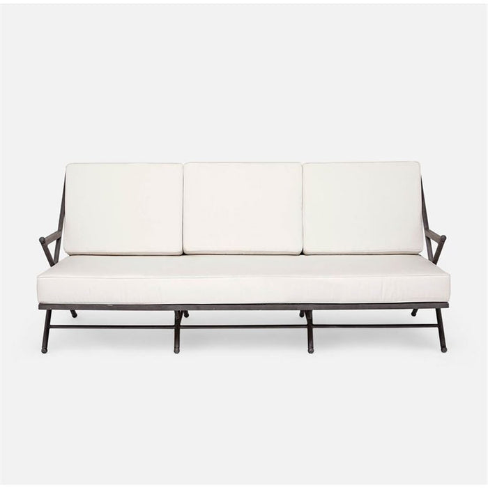 Made Goods Balta Outdoor Sofa in Weser High-Performance Fabric