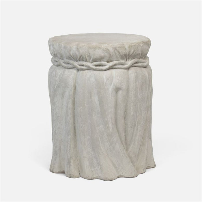 Made Goods Braelynn Draped Outdoor Stool