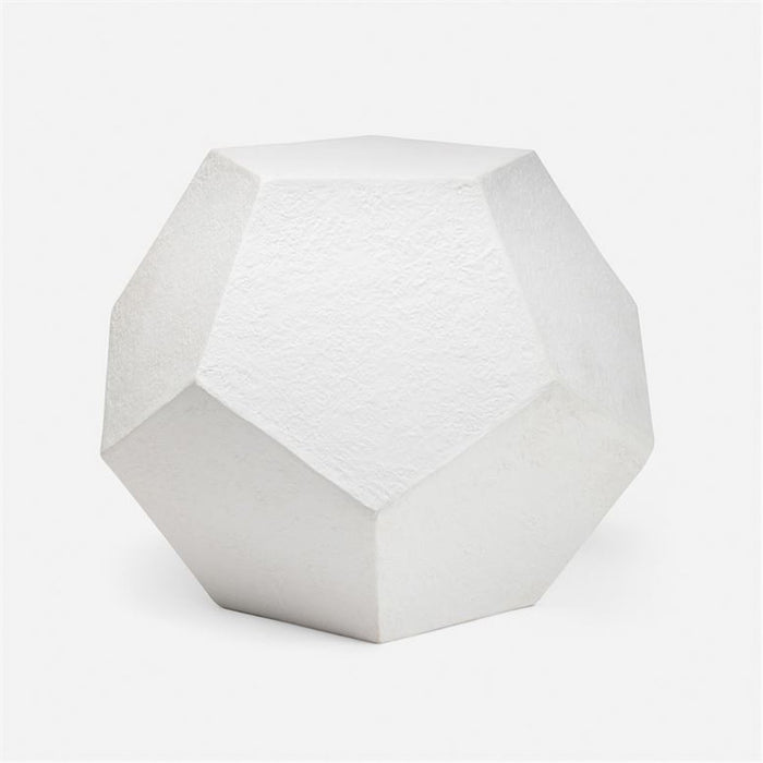 Made Goods Braxton Dodecahedron Outdoor Side Table